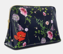 Kosmetiktasche mit Hedgerow-Print