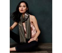 Langer Schal mit Fly Away-Schriftzug