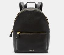 Leather Tassel Backpack