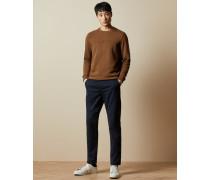 Chino-Hose aus Baumwolle mit Print