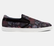 Slip-On-Sneakers aus Textil