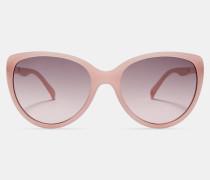 Katzenaugen-Sonnenbrille im Oversized-Design