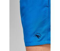 Unifarbene Badeshorts mit Taschen
