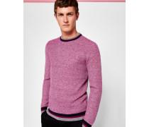 Strukturierter Pullover aus Wollgemisch