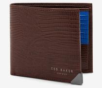 Portemonnaie aus Leder im Eidechsen-Look