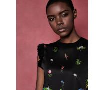 ärmelloser Pullover mit Florence-Print