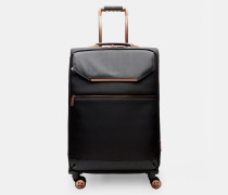 Mittelgroßer Koffer mit Metallborte