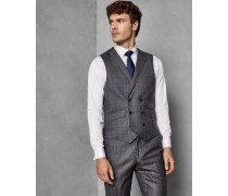 Sterling Check Wool Waistcoat
