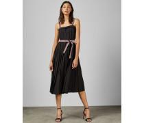 Ӓrmelloses Plissee-Kleid
