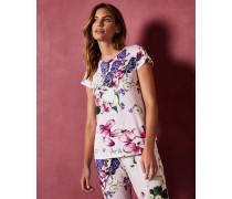 Pyjama-Oberteil mit Kensington Floral-Print