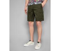 Cargo-Shorts aus Baumwolle