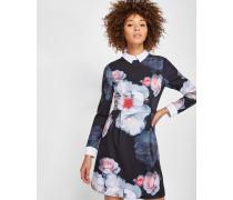 Kleid mit Kragen und Chelsea Flower-Print