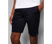 Gepunktete Baumwoll-Shorts