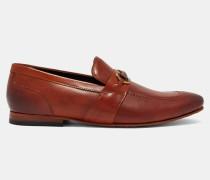 Polierte Leder-Loafer