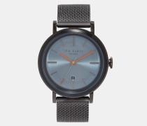 Edelstahl-Uhr