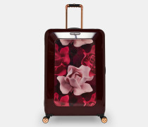 Großer Koffer Mit Porcelain Rose-print