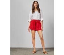 Shorts mit Taillengürtel zum Binden