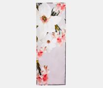 Langer Seidenschal mit Chatsworth Bloom-Print