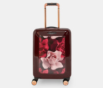 Kleiner Koffer mit Porcelain Rose-Print
