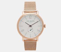Uhr mit Mesh-Armband