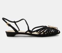 Sandalen Mit Zierbrosche
