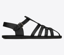 MALIK sandals in smooth leather
