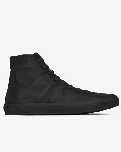 Saint Laurent Damen bedford halbhohe sneakers aus schwarzem leder Freiheit Ausgezeichnet Discounter Standorten Billig Verkauf Heißen Verkauf Ji3jpmA