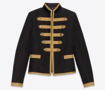 Offiziersjacke mit goldfarbenen Posamentertressen