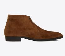 WYATT laced desert boots in suede