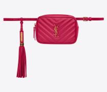 LOU belt bag in matelassé leather