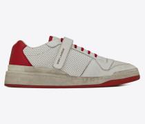 SL24 Sneaker aus Leder mit abgenutzter Optik