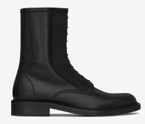 Timothy 25 Stiefel aus schwarzem Leder