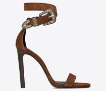 MICA Western sandals in suede
