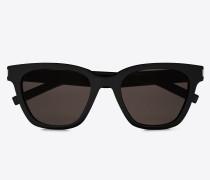 Schwarze und graue Sonnenbrille CLASSIC 51 SMALL