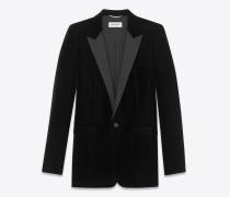 legendäres le smoking einreiher-tuxedo-jackett aus velours