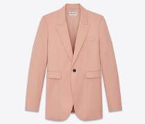 Grain de poudre jacket with notched collar