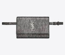 KATE Belt bag in lamé leather