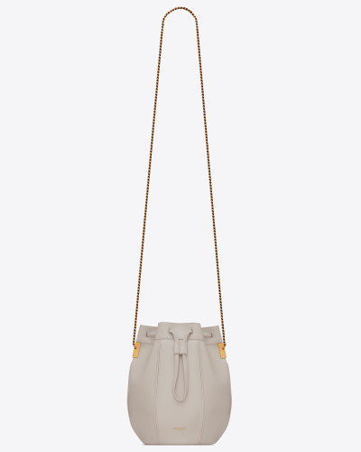 TALITHA small bucket bag in smooth leather