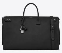Sac de Jour 72h Duffle Bag aus schwarzem Leder