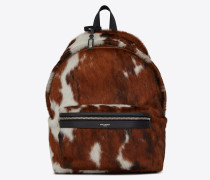 CITY backpack in calfskin