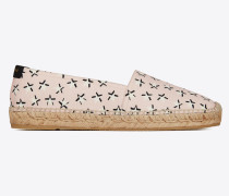 ESPADRILLE aus Canvas mit Star-Fun-Print