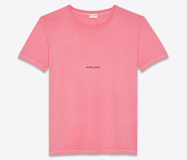 """Saint Laurent Rive Gauche"" T-Shirt"