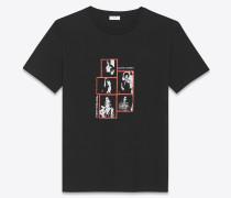 """T-Shirt mit """"Saint Laurent Foto"""""""