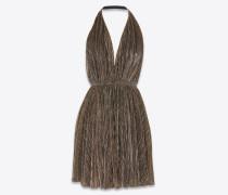 Rückenfreies Kleid aus Lurex-Jersey