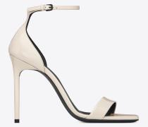 AMBER Sandale aus Lackleder