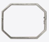 Octagonal bracelet in brass