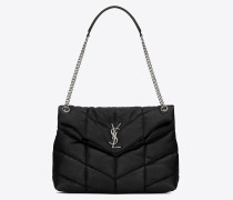 LOULOU PUFFER Medium bag in quilted lambskin