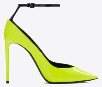 ZOE pumps in fluorescent patent leather