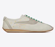 JAY Sneakers aus weißem Leder