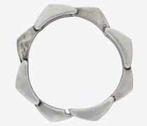 Tribal-Armband mit Metallspitzen
